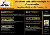 Fórum de Comunicação Sertão do São Francisco realiza II Semana pela Democratização da Comunicação