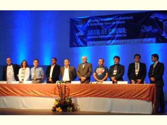 Cerimônia de abertura do 9º Simpósio Brasileiro de Captação de Água de chuva destaca a Segurança Hídrica para o século XXI