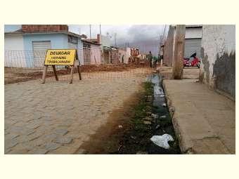 Luta da popula��o garante conquista de esgotamento sanit�rio em Juazeiro
