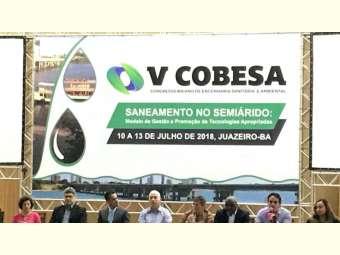 V COBESA debate  o saneamento no Semiárido