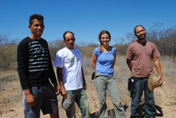 Biólogos/as da Pro Science visitam áreas de Recaatingamento