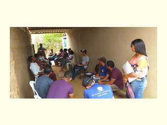 Em Sento Sé, feirantes participam de formação sobe agroecologia
