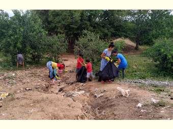 Crianças, adolescentes e jovens de Juremal começam a se  engajar na defesa do saneamento rural
