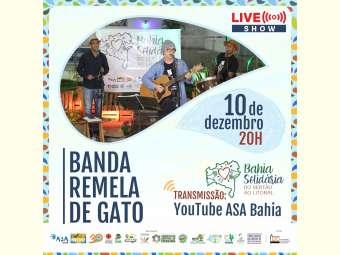 3ª live da campanha Bahia Solidária: do Sertão ao Litoral será dia 10 de dezembro