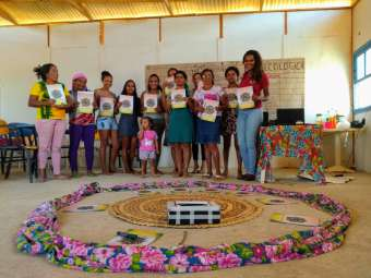 Mulheres à frente: uso de Cadernetas Agroecológicas desperta sentimento de protagonismo feminino em agricultoras, na Bahia