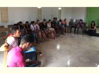 Juventude de Fundo de Pasto discute seu papel na comunidade